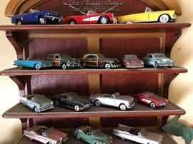 Franklin Mint cars of the fifties
