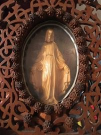 Religious Catholic art, figurines and collectibles