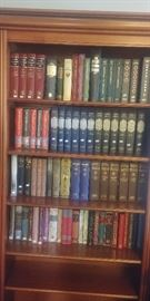 Folio Society Books - Premium Books in Excellent Condition!  Priced at 50% of sold on Ebay, so you could literally double your money.