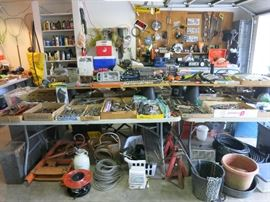Great Selection of Tools, Wire, Chains And More!