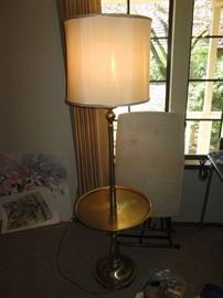 Family Room: Mid-Century Lamp