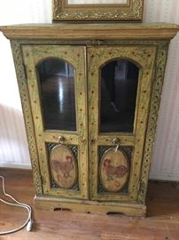 Handpainted Shabby Chic Cabinet