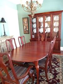 Lexington formal living room, 6 chairs, China Hutch