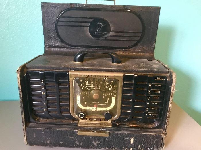 Zenith transoceanic radio