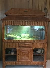 Large bamboo Reptile cage