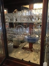 Never ending collection of Candlewick Depression glassware