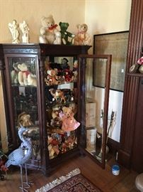Curio full of Steif collection