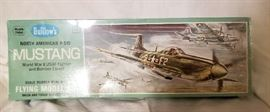 Old unopened rubberband model plane