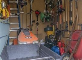 Ysrd tools (excluding the riding mower)
