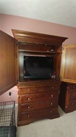 Broyhill armoire.  TV not included.