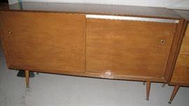 50s sliding door cabinet.