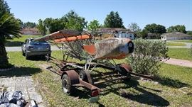 1985-86 Avid Flyer 2-seater with ROTAX 503 MOTOR Good bones on this craft!!