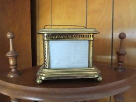 Antique Lithopane Lamp