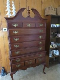 Nice Cherry Highboy