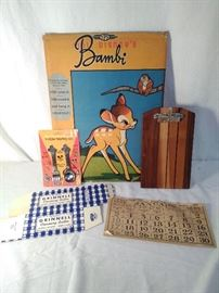 Vintage Items & Wooden Dip Board (5 Pieces) https://www.ctbids.com/#!/description/share/13230