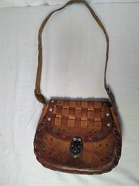 Leather Purse Made in Mexico   https://ctbids.com/#!/description/share/20265