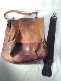 Byron 1964 US Mail Bag & Leather Strap (2 Pieces)  https://ctbids.com/#!/description/share/20269