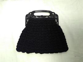 Black Purse with Plastic Handle https://ctbids.com/#!/description/share/20271