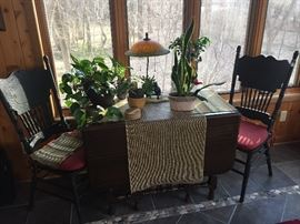 Duncan Phyfe Table with additional leaves