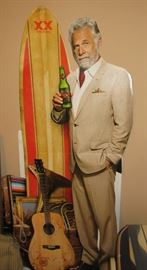 The Most Interesting Man in the World (cardboard advertising piece for XX)