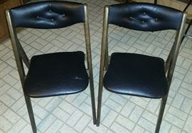 Vintage Norquist Stakmore Folding Chairs