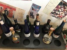 More of the beverage bottles.