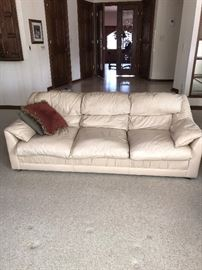 """EMERSON TOP GRAIN LEATHER SOFA-2 AVAILABLE 85""""L x 35""""D x 30""""H"""