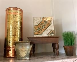 Tile Planter, Faux Greenery, Pottery & More