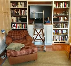 Down Filled Lounger, Rolling Library Ladder & More
