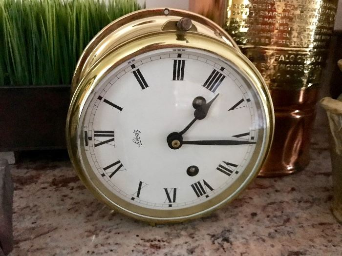 Schatz Maritime Clock