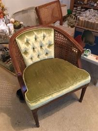 vintage side chair; excellent condition