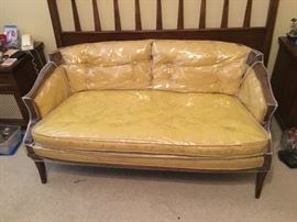 Vintage loveseat, Oxford Furniture Co.