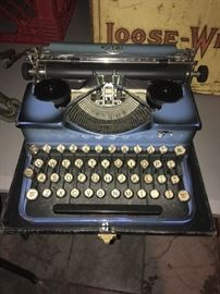 Royal Typewriter In Hard to Find Color With Case
