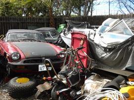 2 VINTAGE MG CARS