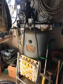 Old Auto Shop Compressor