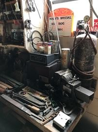Old Sears Vice and Tools