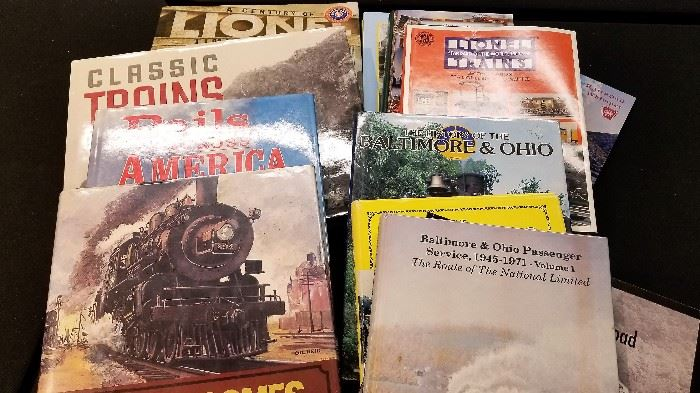 FOR THE TRAIN LOVERS OR COLLECTORS - ANOTHER LARGE COLLECTION THAT WE RECEIVED