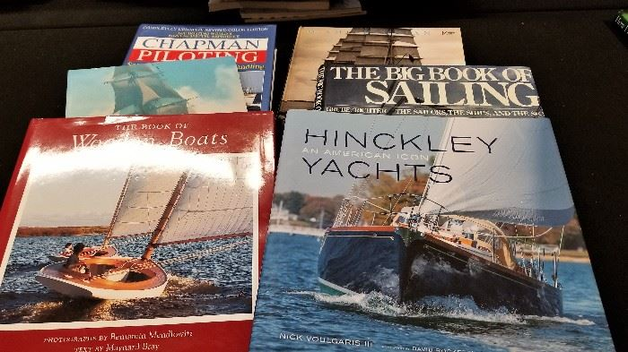 SUMMER IS COMING - BOOKS ON BOATING