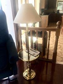 Lovely brass floor lamp