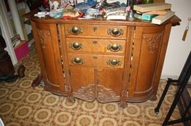 Gorgeous antique sideboard