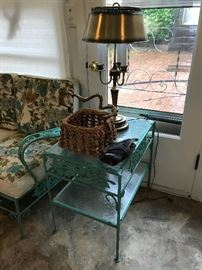 Beautiful 1950's patio furniture
