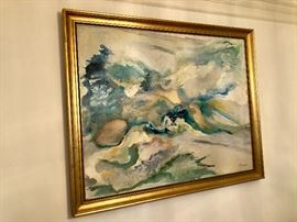 Gorgeous original painting by G Hooper
