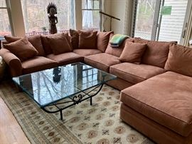 Virtually brand new sectional