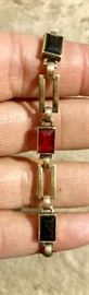 14 K and Sterling with precious stones