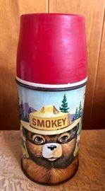 Red hot Smokey Thermos
