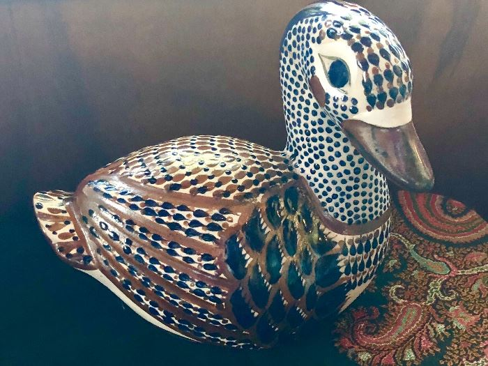 Mexico ceramic - we have a squirrel somewhere, too!