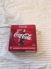 Coca Cola Coasters.