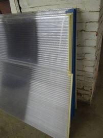 14 Fiberglass Partitions/Panels