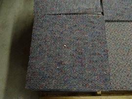 "Pallet of Carpet Squares, 20"" X 20"""