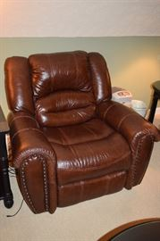Leather Recliner Matches Leather Sectional
